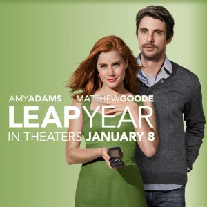 Worked on the Leap Year film