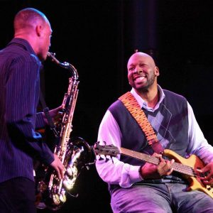 Worked with Wayman Tisdale